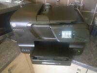 HP Officejet Pro 8600 All-in-One (Print, Scan, Copy, Fax, Web) + Origianl HP ink set