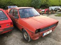 Ford Fiesta Mk1 For Breaking All Parts Available