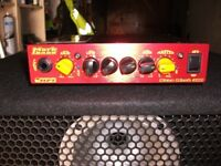 MARKBASS NANO 3OO WATT AMPLIFIER HEAD AND TWO CABINETS