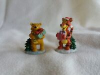 Winnie the Pooh and Tigger Christmas Figurines Figures