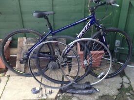 Carerra bike works perfectly and spares