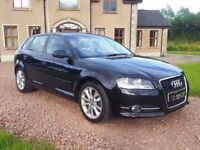 2011 Audi A3 1.6 Tdi Sport S-Line *86k Miles* (not a4 golf leon astra polo s-line )