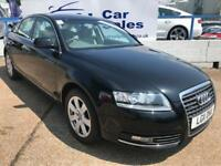 AUDI A6 2.7 TDI QUATTRO SE 4d AUTO 187 BHP A GREAT EXAMPLE INSIDE AND OUT (black) 2011