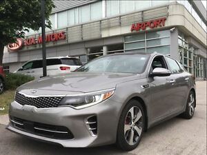 2016 Kia Optima SXL Turbo w/Black