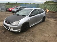 Honda Civic Type r ep3 breaking k20a2 k swap