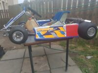 Twostroke race kart tkm115cc