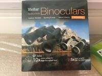 Vivitar binoculars..two..one 10x50 and one 5x30 used once