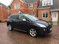 2013 PEUGEOT 3008 ALLURE AUTOMATIC 1.6 E-HDI, CRUISE, PAN ROOF, BLUETOOTH, HEAD UP DISPLAY