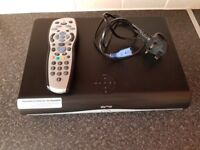 Sky+ HD Box with Remote Controller