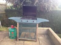 Barbeque- works well- great all year round.