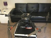 As new Yuneec H920 plus drone including 5 sets of batteries