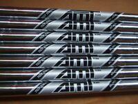 AMT BLACK R300, TRUE TEMPER, STEEL SHAFTS, 4 - PW, 0.355 TAPER TIP, REGULAR