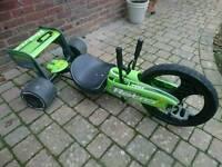 Go Kart. Booster Retro 360