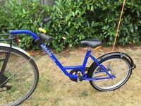"""Tagalong ROLAND """"Add+Bike"""", 20"""" wheels, blue"""