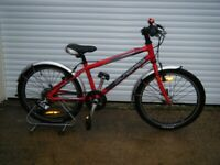 boys / girls child RED islabikes BEINN 20 bike bicycle 11 inch frame wheels 20 inch