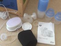 Electric breast pump and accessories