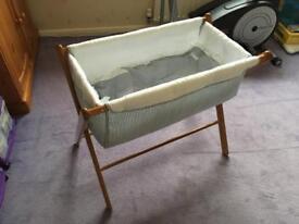 Mothercare new born baby crib