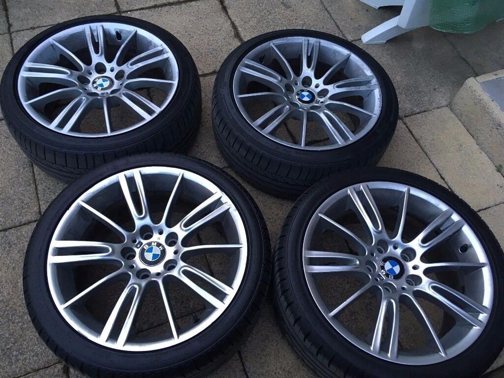 "Bridgestone Near Me >> GENUINE BMW E90 E91 3 Series 18"" MV3 193 M Sport Staggered ..."
