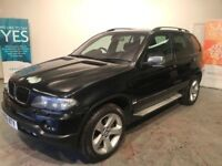 BMW X5 3 D SPORT AUTO 2006 06 FULL BLACK LEATHER PRICE REDUCED