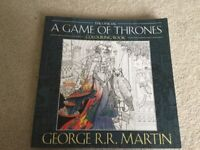 The Official A Game Of Thrones Colouring Book NEW