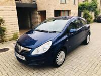 VAUXHALL CORSA 2007 AUTOMATIC 1.4 ENGINE / LOW MILES 33K MILES CORSA AUTOMATIC