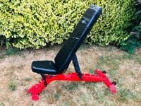 Heavy Duty Commercial/ Pro Flat Incline/ Decline Gym Bench