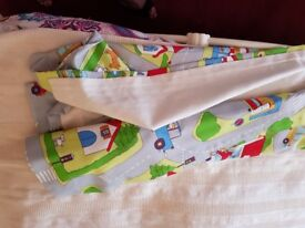 Pair of Kids Road Design Curtains 46 x 46inches each
