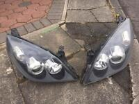 Vauxhall Vectra Sri O7 Reg black front head light
