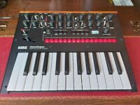 Korg Monologue, Black, inc power supply. Still boxed with manuals etc.