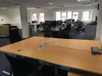 Large Desk Spaces in bright office in the heart of North Laine - 2 available now