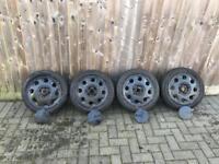"14"" Teardrop Wheels 4x100 Volkswagen mk2 golf"