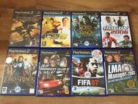 Ps2 games £2 each or 3 for £5
