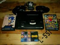 Sega mega drive , plus games