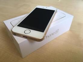 iPhone SE 16GB Gold with Apple Warranty until end of year!