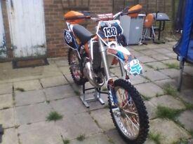 2005-06 KTM 125 sx ** mint condition** for sale.