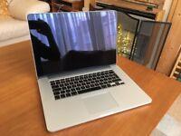 Apple MacBook Pro 15 inch i7 Retina Laptop 256gb SSD