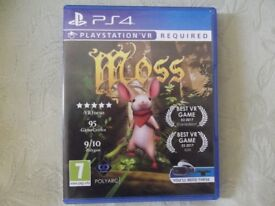 Moss PS4 VR Game