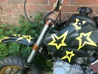 Road legal Thumpstar pitbike