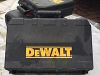 Dewalt 'empty'power tool box.