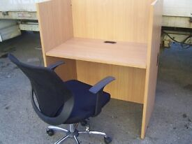 OFFICE CALL CENTRE INTERNET CAFE DESK BOOTHS CUBICLES 20 FOR SALE ALL GOOD CONDITION
