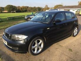 BMW 1 Series 5dr (black) 2008