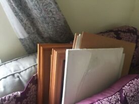Painting stuff incl books from my mums house