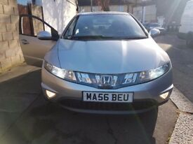 Bargain !! Must go Honda civic 2.2 Diesel sports 5 door silver