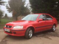2001 Honda Civic 1.4i Sport 5 Door Red - FSH, MOT'd until 03/01/19, great first car / run around