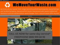 WE MOVE YOUR WASTE! WASTE/RUBBISH REMOVAL AND RECYCLING SERVICES