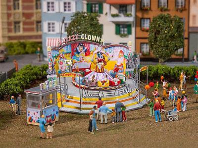 Crazy Clown (Faller 140424 Fahrgeschäft Crazy Clown Jahrmarkt Kirmes H0 Bausatz Neu)