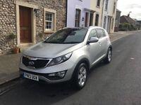 Kia Sportage 2013 1.6 Silver 5 door petrol *low mileage*