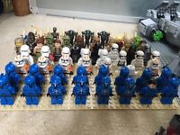 Bundle of lego sets and characters