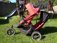 Phil & Teds double pram/pushchair