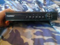 CCTV recording box with mouse and 500gb